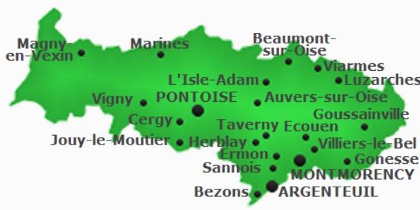 Val d'Oise (95) volets-roulants